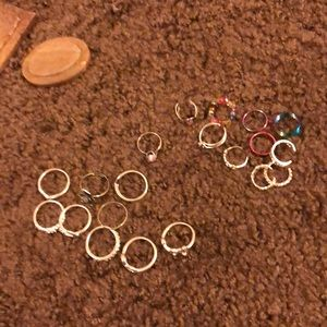 Rings and toe rings